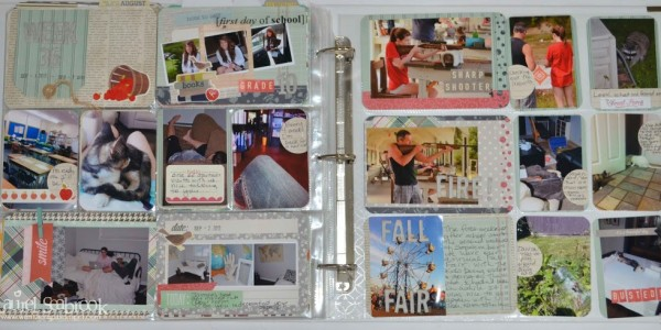 Fall Photo Pocket Page Scrapbooking