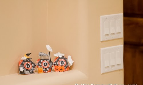 Boo Street Halloween Papercraft {Thirty-One}
