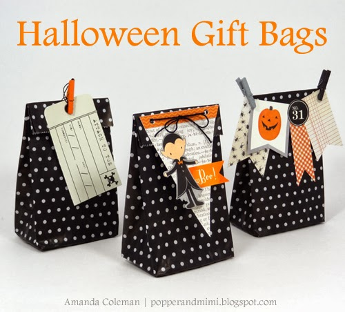 Halloween Party Favor Bags - Pebbles, Inc.