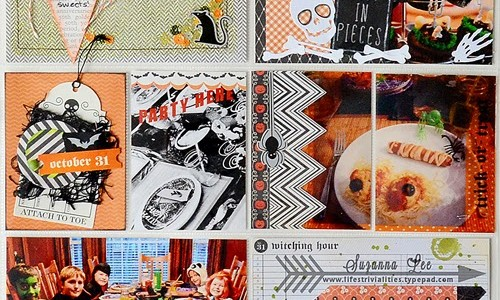 Saturday Share: Halloween Photo Pocket Page Scrapbooking {Thirty-One}