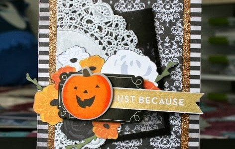 Handmade Halloween Cards {Thirty One}
