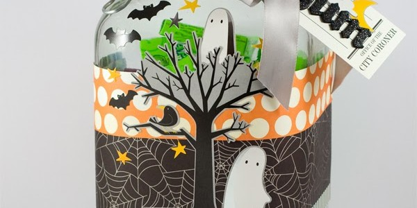 Halloween Party Treat Jars