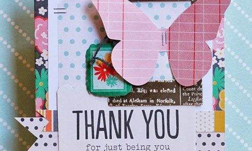 Handmade Thank You Card {From Me to You}