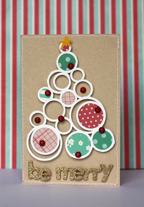 Handmade christmas cards pebbles inc for Handmade christmas cards