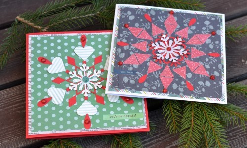 Handmade Norwegian Inspired Christmas Cards