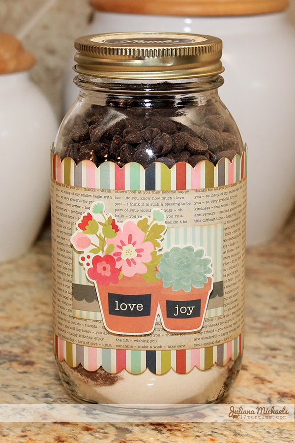 Wedding Gift Ideas Michaels : Thank You Brownie Mix JarPebbles, Inc.