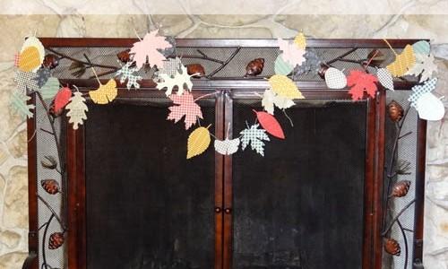 Paper Leaf Gratitude Garland
