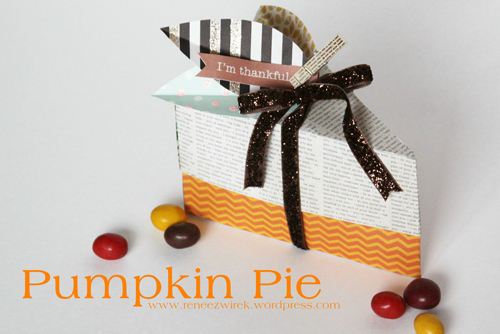 Pumpkin Pie Favor