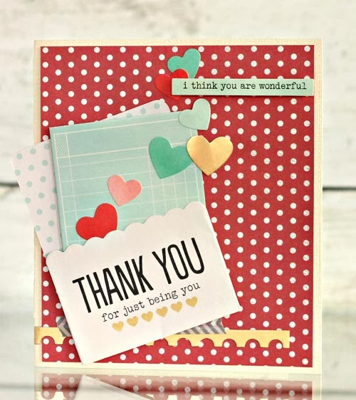 Handmade Thank You Cards Pebbles Inc
