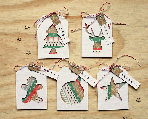 Christmas Gift Tags Handmade.Handmade Holiday Gift Tags