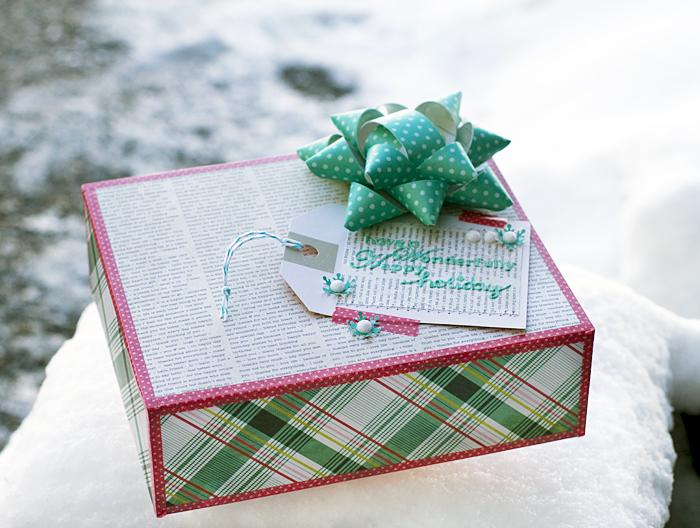Scrapbook Paper Giftwrap