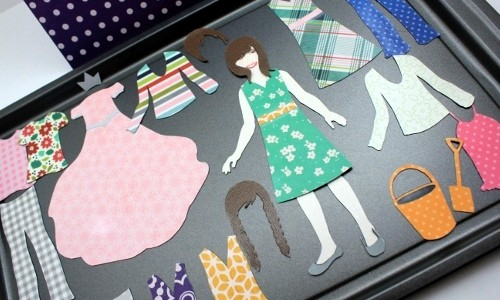 Holiday Magnetic Paper Doll Set