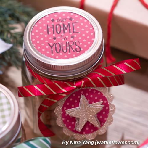 Mason Jar Neighbor's Gift for Christmas 6 12.03.13