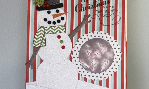 Snowman Treat Bag