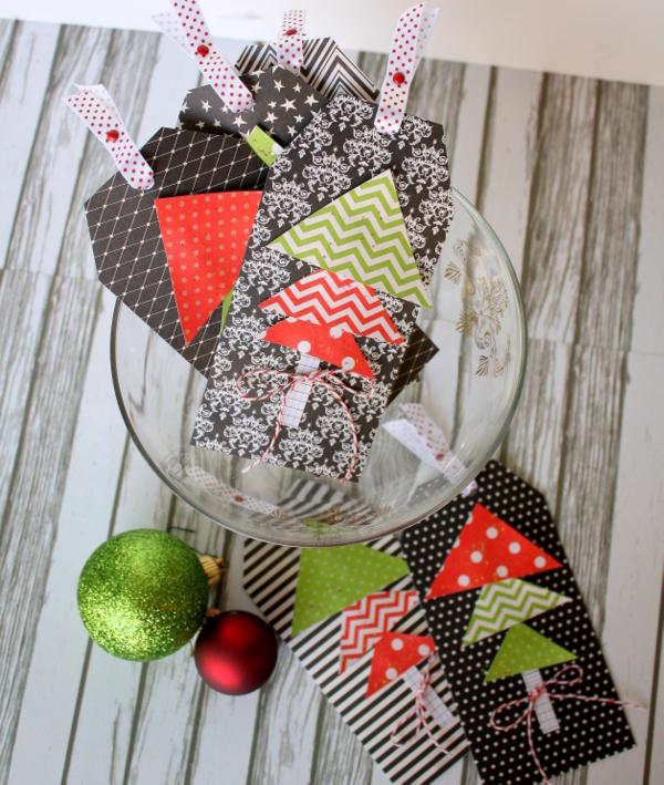 Last minute handmade gift tags