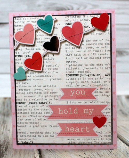Trio of Handmade Valentines Day Cards Pebbles Inc – Valentine Day Cards Handmade