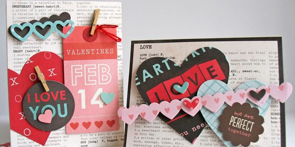 Handmade Valentine's Day Cards