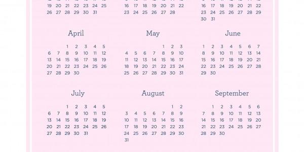 Pebbles 2014 Calendar
