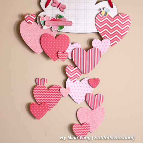 Happy Hearts Wall Decoration 5 1.28.14