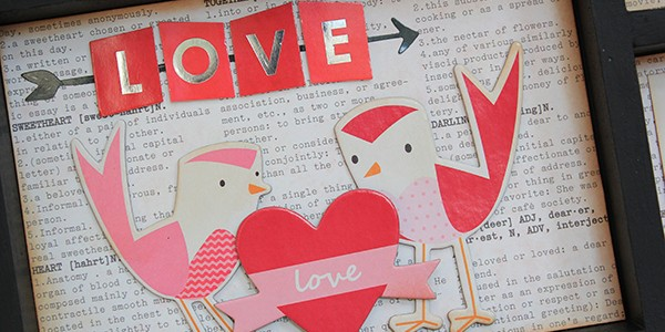 Love Birds Valentine Art