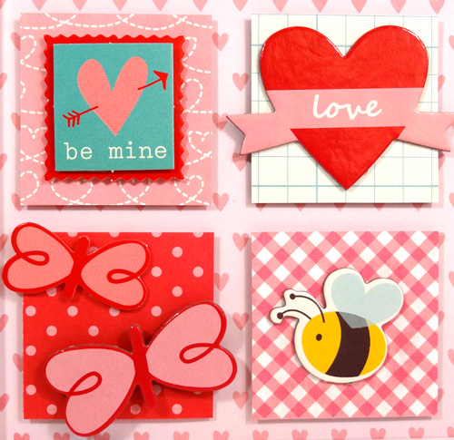 Valentine Home Decor square detail by Amanda Coleman