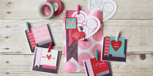 Valentine's Day Mini Stationary Set
