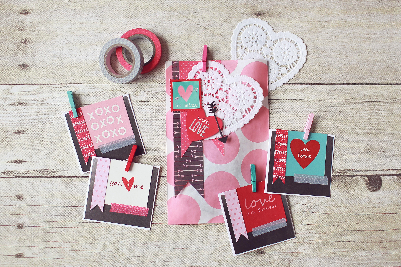 valentines stationary