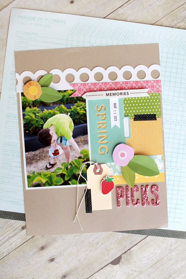 Spring layout using @PebblesInc Garden Party