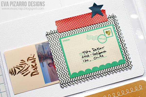 Project Life scrapbooking with Pebbles Inc journaling cards