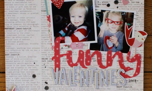 Valentine's Day Layout
