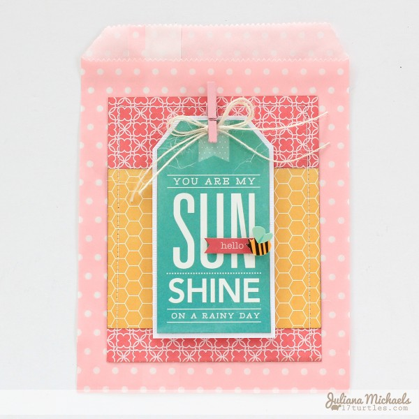 Gift bag tags created by @julianamichaels using @pebblesinc #gifts #crafts