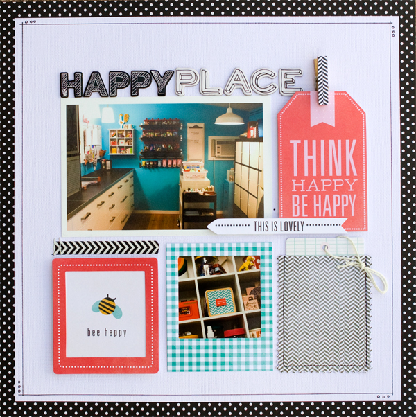 Clean, simple, grid style scrapbook layout created by @kimkesti using @pebblesinc