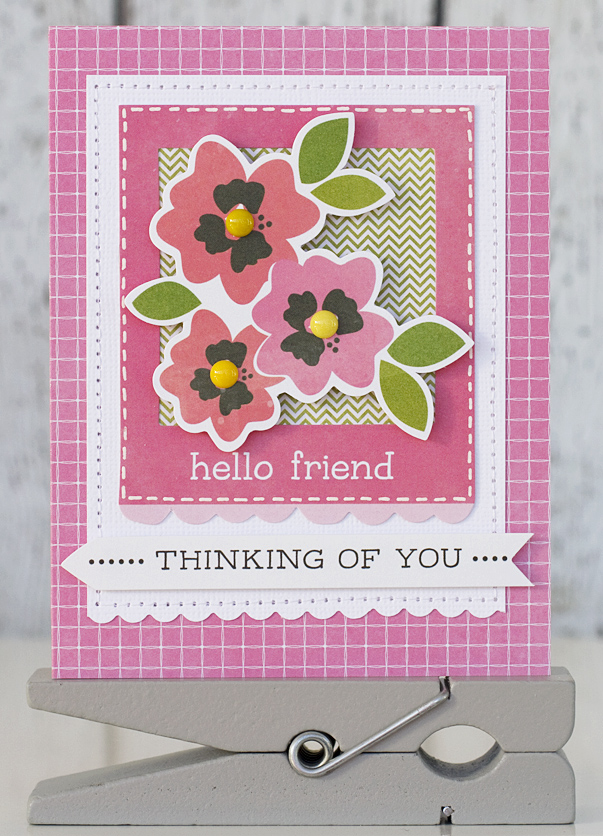 Handmade cards for spring pebbles inc handmade cards for spring featuring the garden party collection thecheapjerseys Image collections