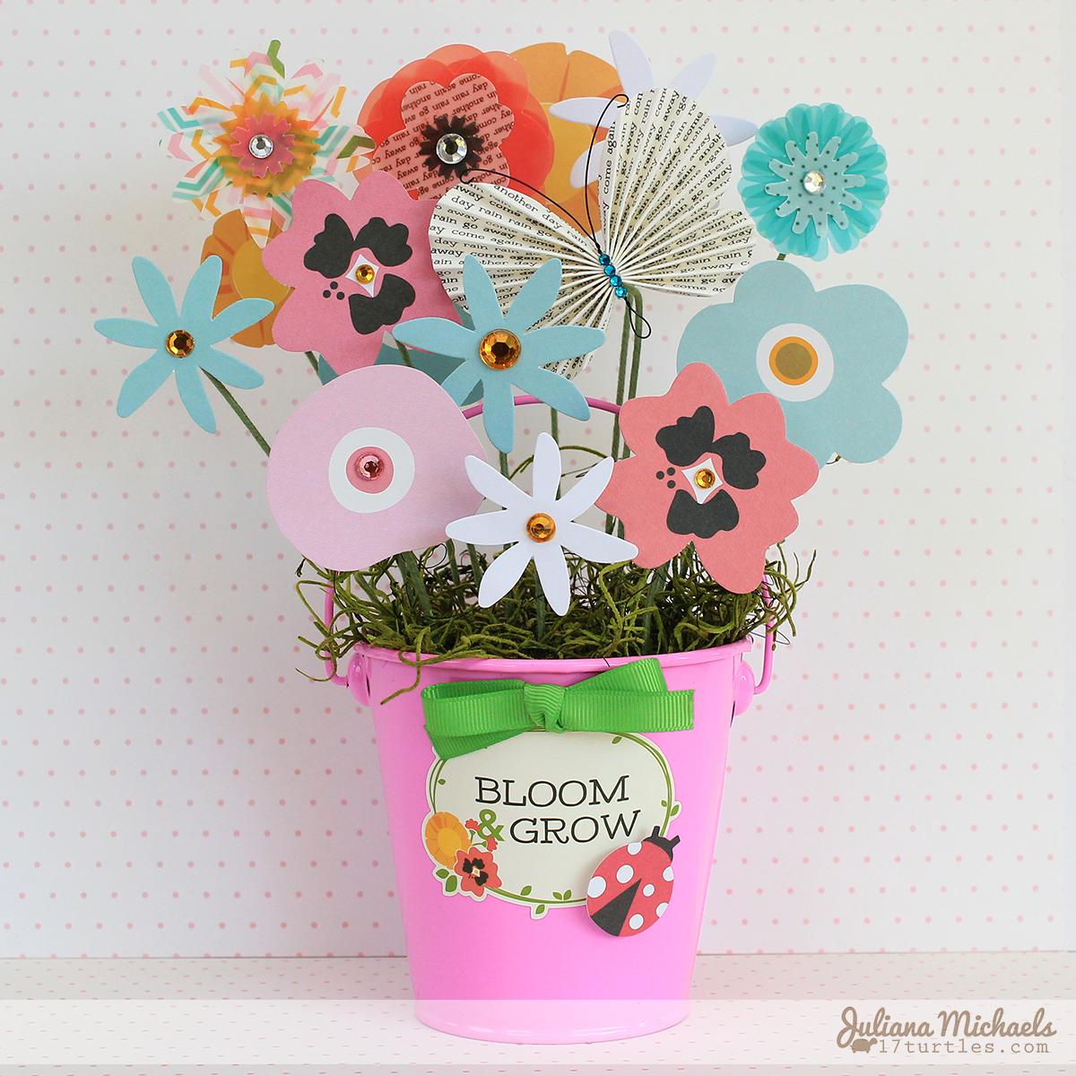 Paper Flower Bouquet Pebbles Inc
