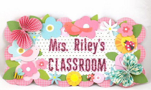 Teacher Thank You: Classroom Decor
