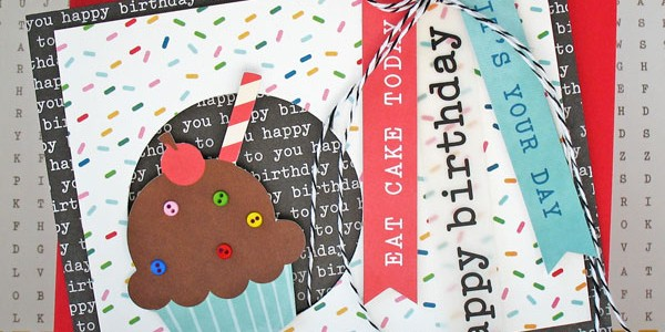 Eat Cake Birthday Card