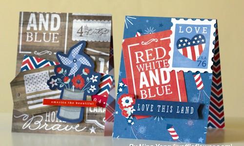 Handmade Patriotic Cards