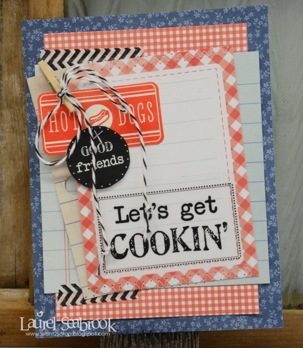 Learn how to re-purpose themed collections for every day use with @LaurelSeabrook for @PebblesInc #handmade #cards
