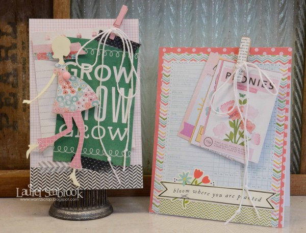 Spring cards created using @PebblesInc #GardenParty collection via @laurelseabrook #cards