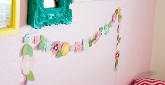 Easy Flower Garland