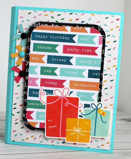 Mini envelope money holder via @samanthajt for @PebblesInc using the #BirthdayWishes collection. #graduation #birthday #card #handmade
