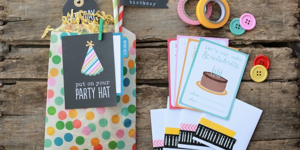 Mini Birthday Invitations
