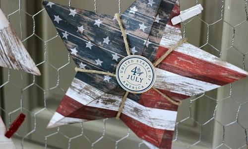 Patriotic Paper Stars