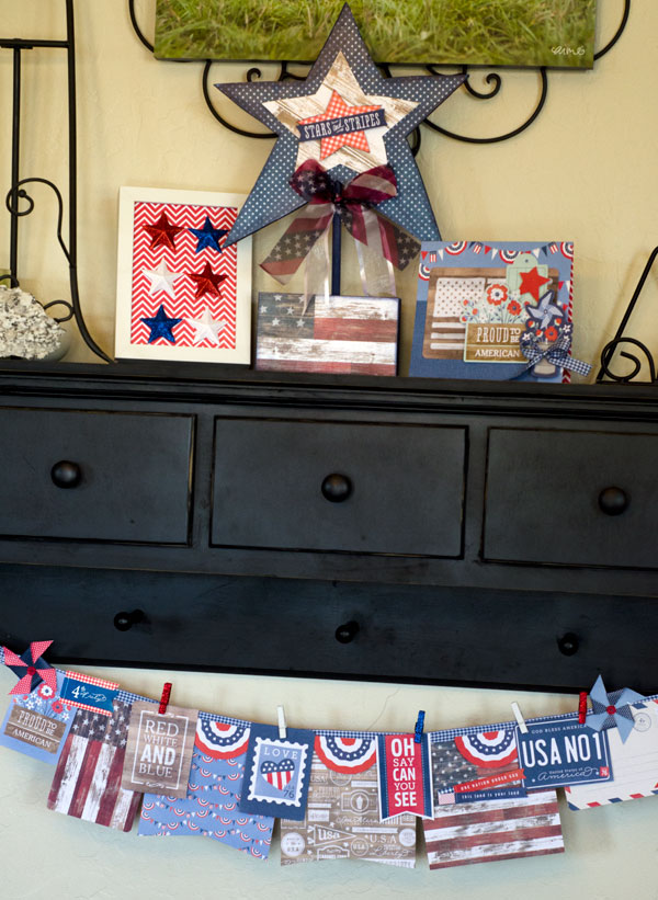 patriotic home decor pebbles inc