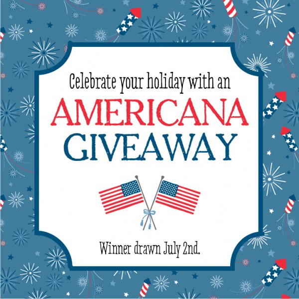 Win items from the #Americana collection by liking @PebblesInc on Instagram and commenting what you love about our products! #giveaway