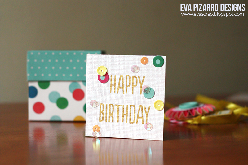 Birthday Gift Box And Card