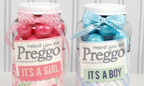 New Mother Gift Jars