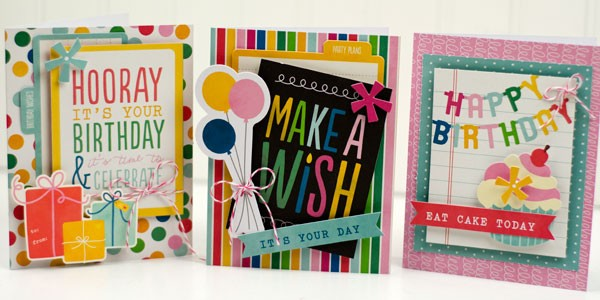 Quick and Easy Birthday Cards