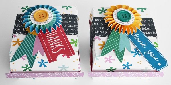 Birthday Burger Box Favors