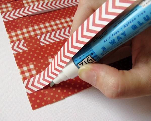 Pebbles weaving tutorial by Mendi Yoshikawa using #Basics Collection from @PebblesInc. @MendiYoshikawa